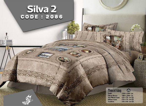 سرویس روتختی زارا مدل silva2 دونفره هشت تکه