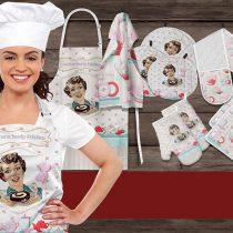 سرویس 16 پارچه تکه دوزی آشپزخانه زارا کد 4