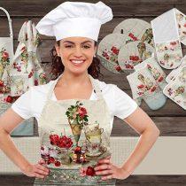 سرویس 16پارچه تکه دوزی آشپزخانه زارا کد 8