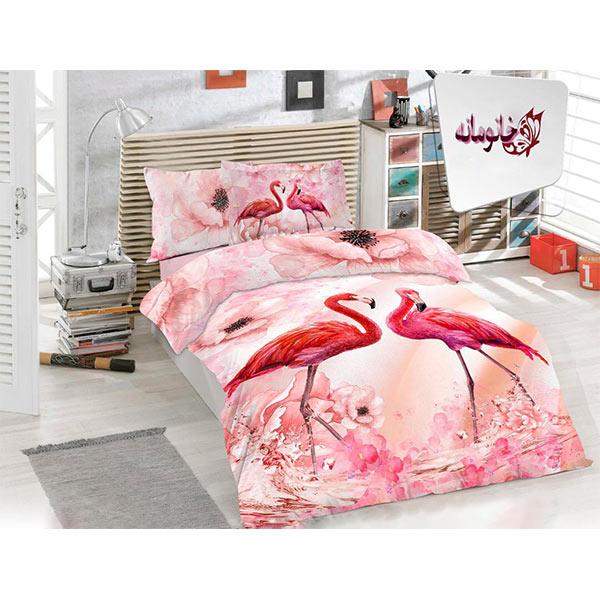 سرویس روتختی زارا مدل Flamingo یکنفره 5 تکه